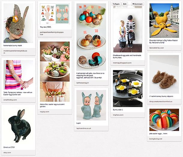 Pinterest Easter