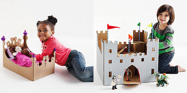 Cardboard Princess Bed & Castle