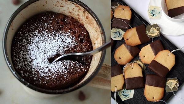 Mug Cake and Tea-bag Biscuits