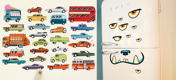 Highway & Ozzie wall Stickers