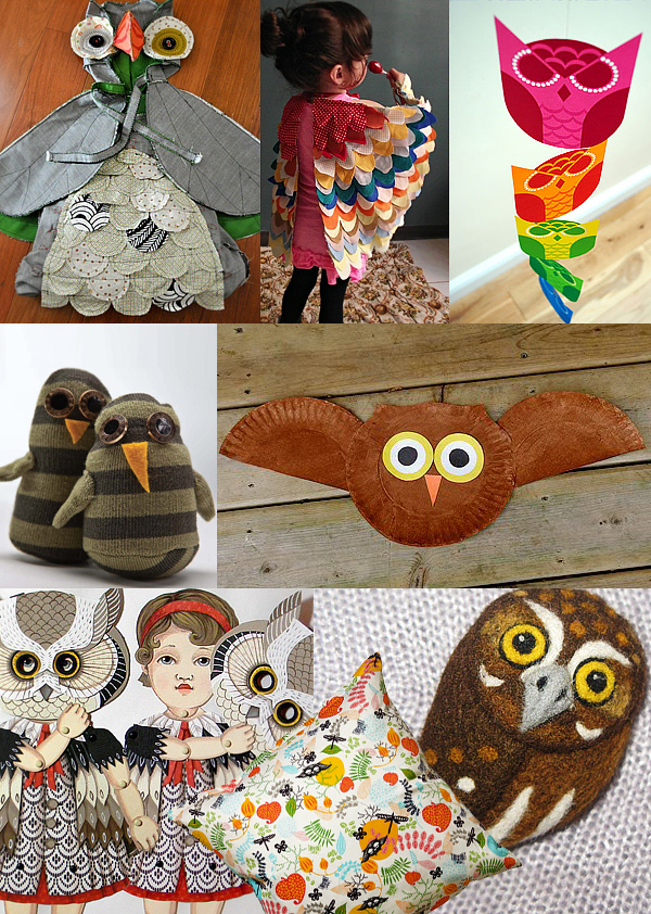 Owls DIY and handmade